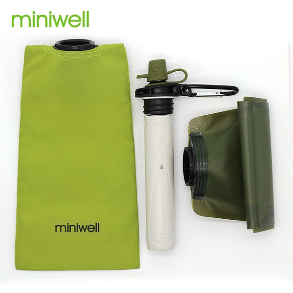 Survival Outdoor Camping & Hiking Portable Water Purification with bag Filtered Water On The Go - groovy-grabz