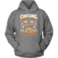 """Chasing My Whitetail Deerly"" CUSTOM Hunting Hoodie"