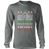 """Jingle Bells"" CUSTOM Hunting Long Sleeve Shirt"