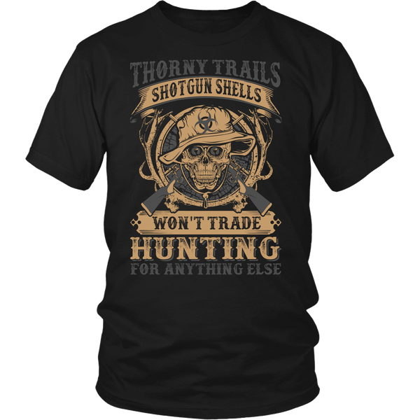 """Thorny Trails"" CUSTOM Hunting T-Shirt"