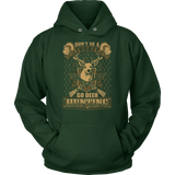 """Don't Be A Turkey"" CUSTOM Hunting Hoodie"