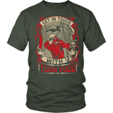 """Get In Touch"" CUSTOM Hunting T-Shirt"