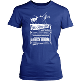 """Vegetarian"" CUSTOM Hunting Women T-Shirt"