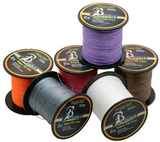 4X Weaves Super Strong Braided Fishing Line 4.5-31.7kg (10-70lb) 300m (328 yards)