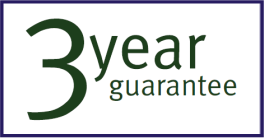 Ekofires 3 Year Guarantee
