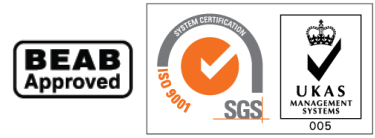 SGS And BEAB Approval Badges