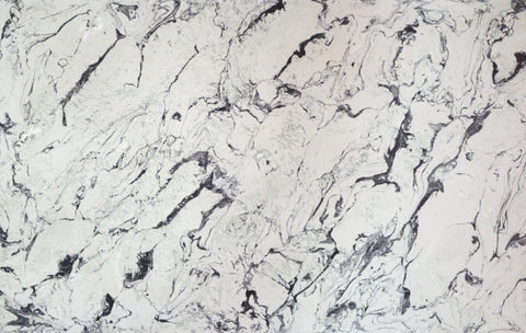 Two color marble stone