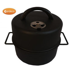 Gardeco Food Smoker To Fit Firepits, BBQs And Chimineas' Neck Tops | SKU: COOK-SMOKERPAN | Barcode: 5031599045719