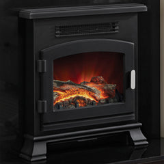Be Modern Banbury Inset Electric Stove In Anthracite Finish