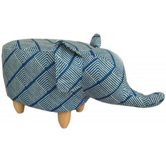Gardeco Sultan The Diamond Elephant Footstool | SKU: FS-ELE-DIA | Barcode: 5031599049878.