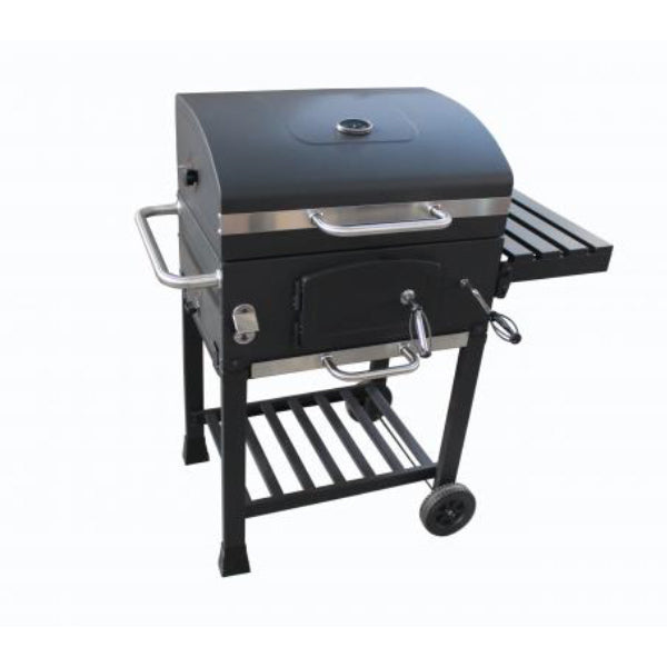 Gardeco Kentucky Smoker BBQ With Steel Side Shelf | SKU: KENTUCKY | Barcode: 5031599049915