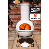 Gardeco Sempra Large Chimalin AFC Chiminea In Natural Clay | SKU: AFC-C21.00 | Barcode: 5031599044569