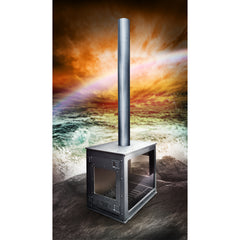 6 Elements Vega Outdoor Fireplace | SKU: VEG-0001 / VEG-0002 | GTIN: 5060612080086