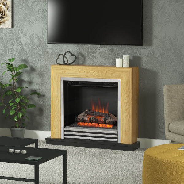 Be Modern Devonshire Electric Fire Suite