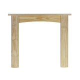 Ekofires 7010 Fireplace Surround In Unfinished Pine 47 Inch