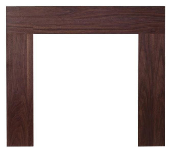 Ekofires 7080 Walnut Wooden Fireplace Surround 46 Inch