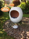 Chiminea In Mottled Grey
