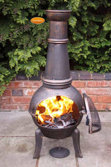 Gardeco Extra Large Granada Cast Iron Chiminea