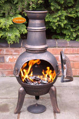 Gardeco Medium Granada Cast Iron Chiminea