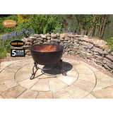 Gardeco Meridir Cast Iron Fire Bowl
