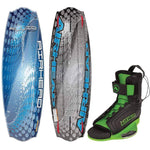 AIRHEAD Fluid Wakeboard - 134cm w-GOBLIN Bindings - Medium [AHW-40212M]