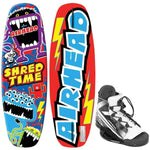 AIRHEAD Shred Time Wakeboard - 124cm w-VENOM 4-8 Bindings [AHW-10301]