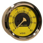 "VDO Allentare Yellow-Blue 8000RPM 3-3-8"" (85mm) Outboard Tachometer - 12V [333-14758]"