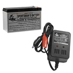 Vexilar 9 Amp Battery W/Charger  V-120