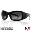 Bobster Drifter Conv Sunglasses Blk Frame PhotoC-Clear Lens