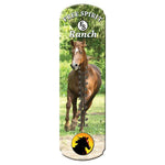 REP Large Horse Tin Thermometr 1369
