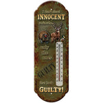 REP Innocent Animals Tin Thermometer 1329