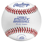 Rawlings Pony League Competition Grade Baseball-Dozen