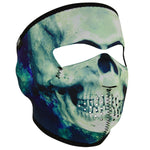 ZanHeadgear Neoprene Full Face Mask Paint Skull