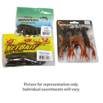 25 Piece Soft Bait Assortment