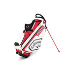 Callaway CHEV Golf Stand Bag Red/White/Black