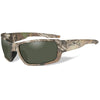 Wiley X Rebel Polarized Sunglasses Realtree Xtra Frame