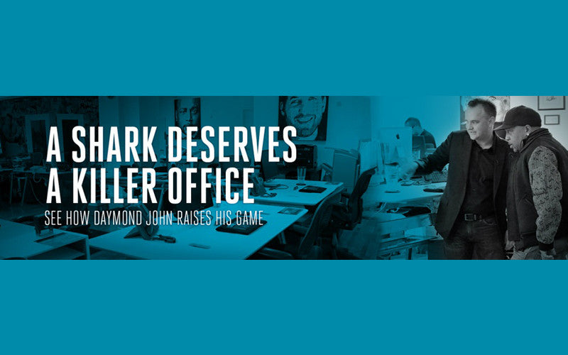 A SHARK DESERVES A KILLER OFFICE