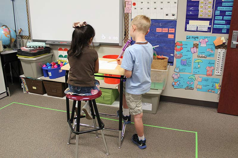 How Standing Desks Can Help Students Study