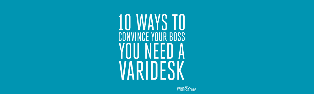 10 ways to convince your boss