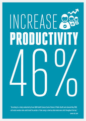 Increase Productivity 46% with VARIDESK NZ