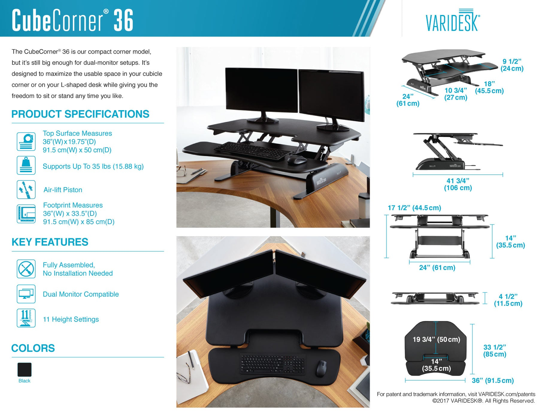 varidesk-cube-corner-36-technical-specifications