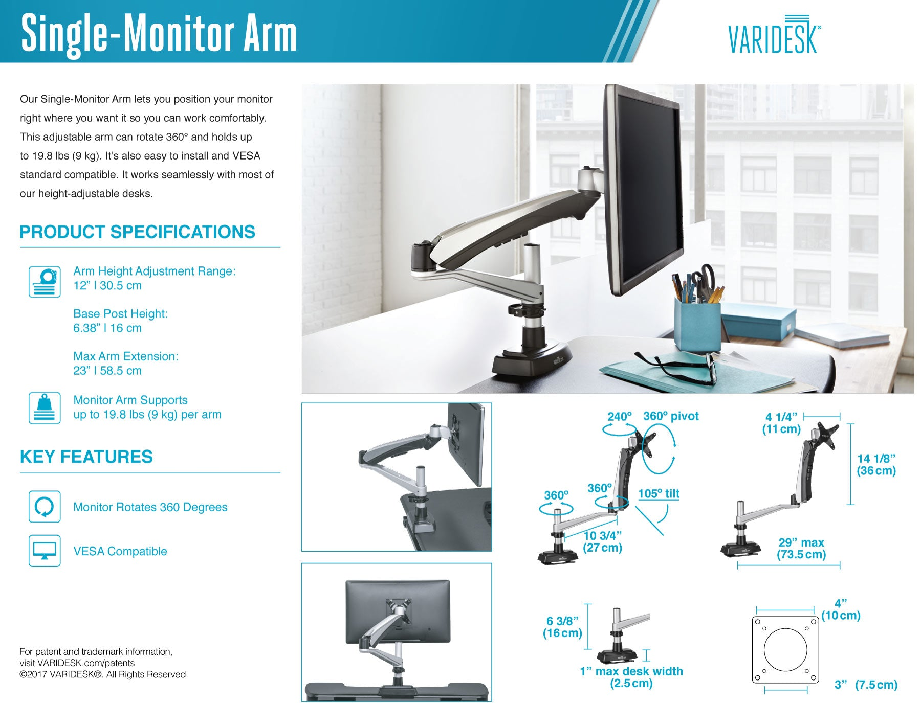 varidesk-single-monitor-arm-tech-specs