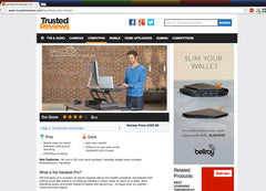 Trusted Reviews do a Varidesk Review