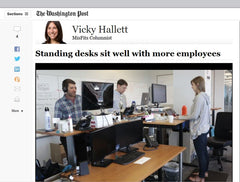 Washington Post Standing Desk Review