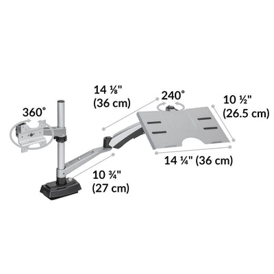 Vari Monitor Arm Laptop Stand Dimensions