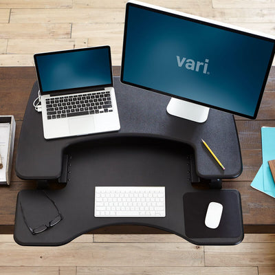 Vari Height Adjustable Desk Black