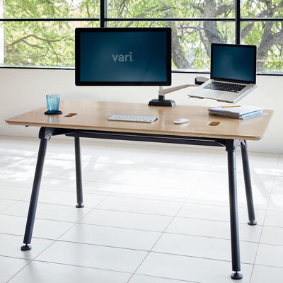 Vari Standing Desk Monitor Arm Silver