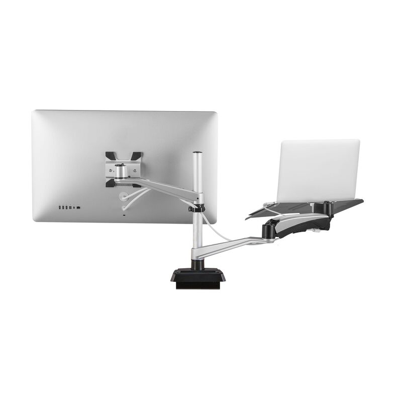 Varidesk Monitor Arm Laptop Iso Silver