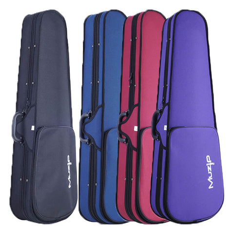 Muzip Violin Case, 4/4 or 3/4, Basic Professional Super Light Suspension Violin Hard Case