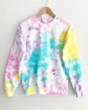 "Load image into Gallery viewer, Confetti Tie Dye Sweatshirt ""Size Men's S"""